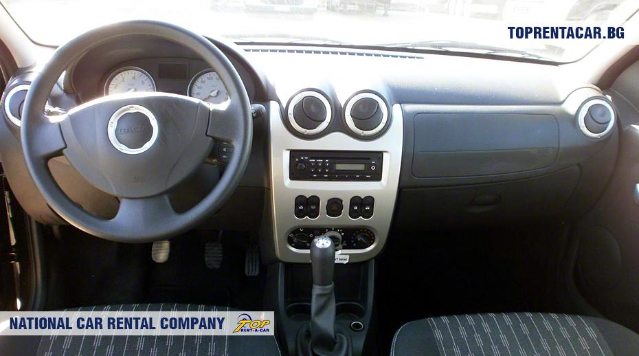 Dacia MCV - вид изнутри