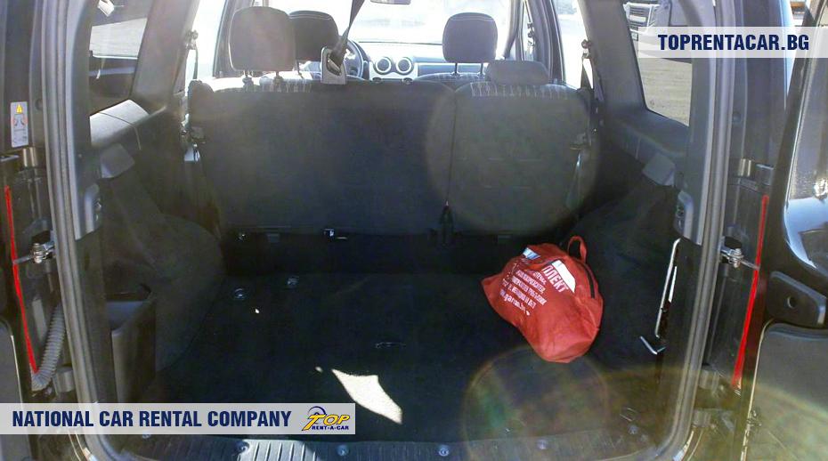 Dacia MCV- багажник