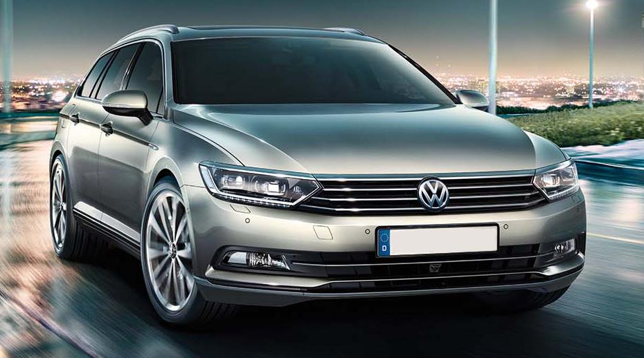 VW Passat комби - вперед