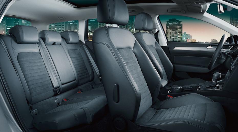 VW Passat комби - внутри