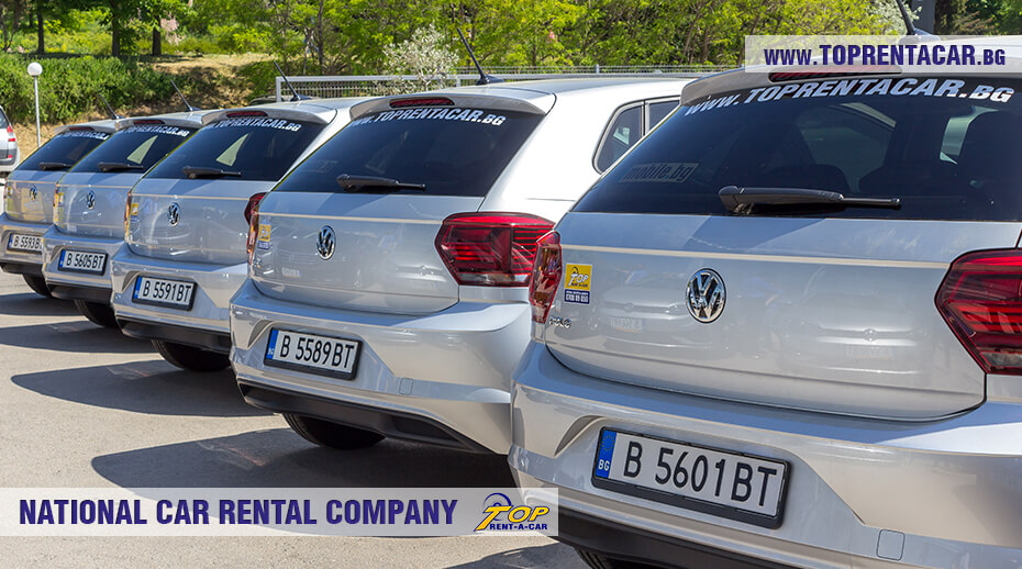 VW Polo в аренда от Top Rent A Car
