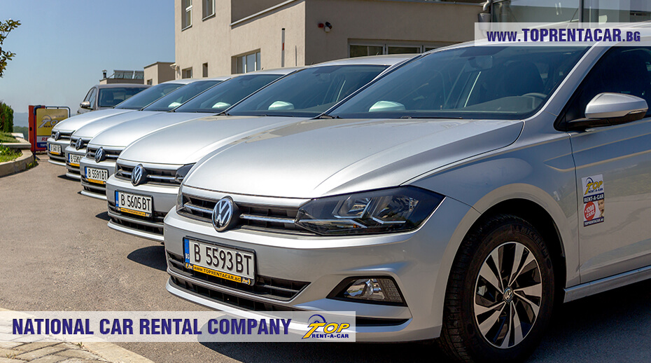 VW Polo от флота Top Rent A Car