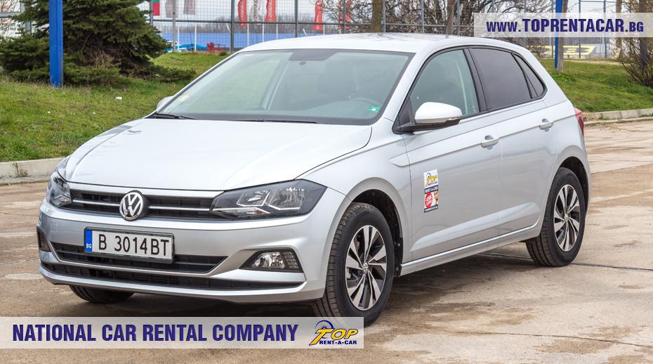 VW Polo - вперед