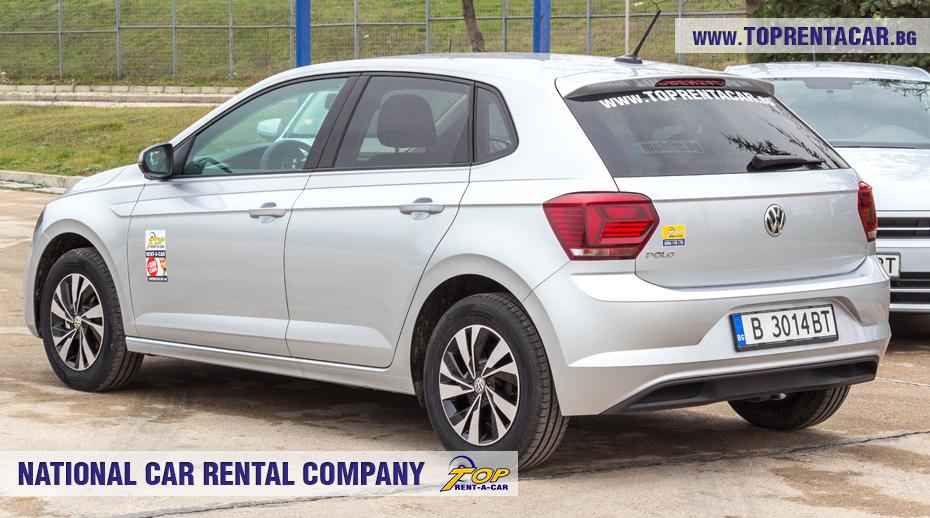 VW Polo - позади
