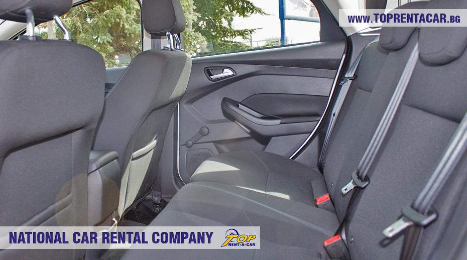 Ford Focus EcoBoost 2018 - внутри