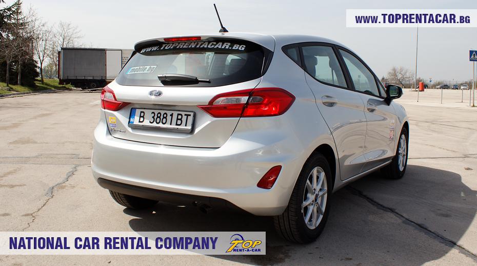 Ford Fiesta  EcoBoost - позади
