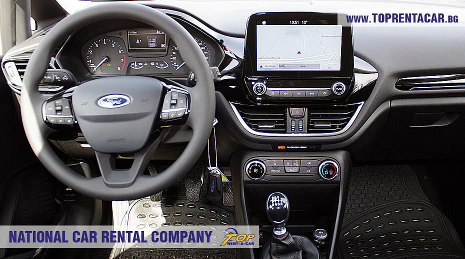 Ford Fiesta  EcoBoost  - внутри