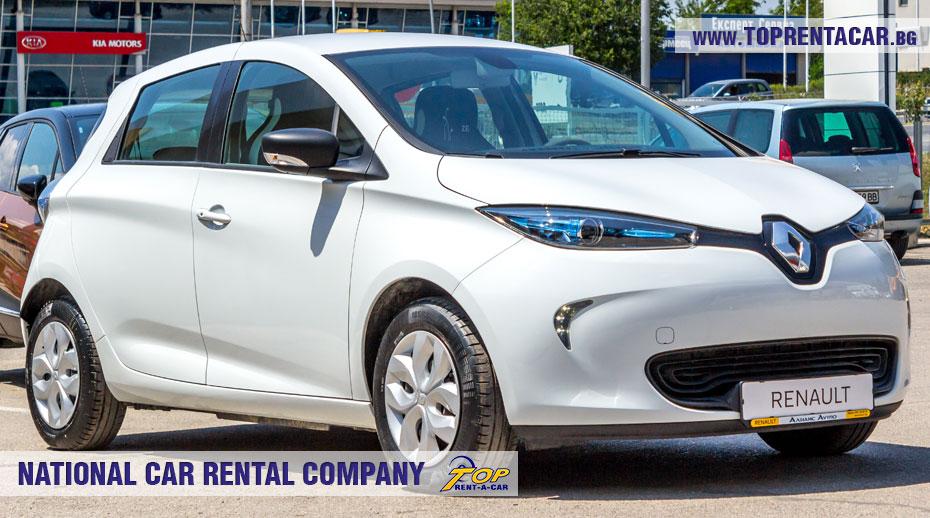 Renault Zoe - вперед