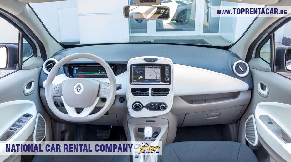 Renault Zoe внутри