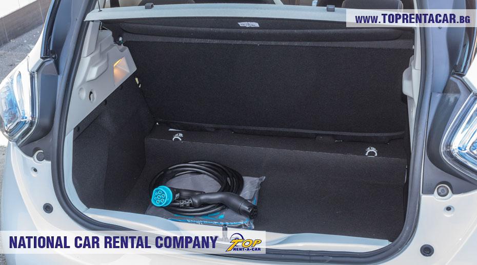 Renault Zoe - багажник