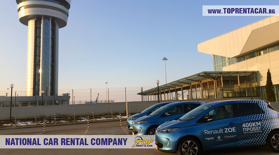 Renault Zoe в аренда от Top Rent A Car