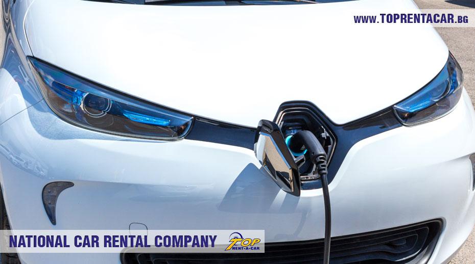 Инструкция по заряду электрических Renault Zoe от Top Rent A Car