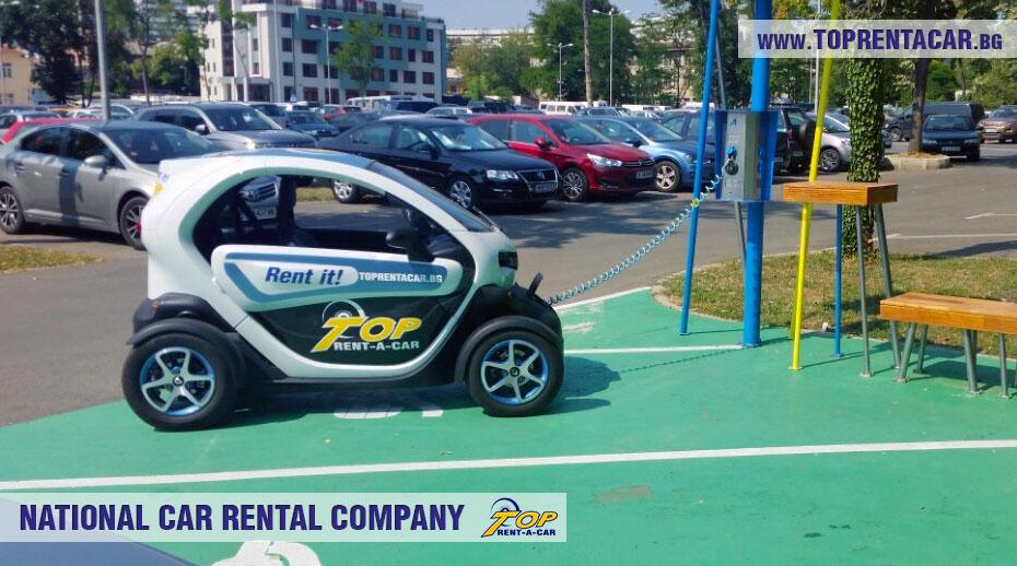 Инструкция по заряду электрических Renault Twizy от Top Rent A Car