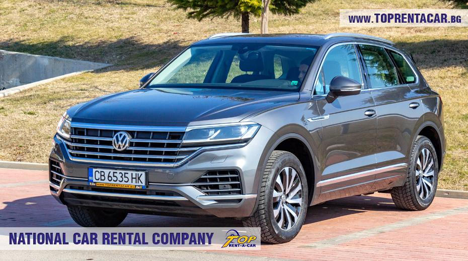 VW Touareg 2019 - изглед вперед