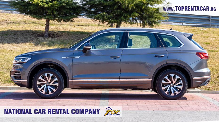 VW Touareg 2019 - изглед сторона