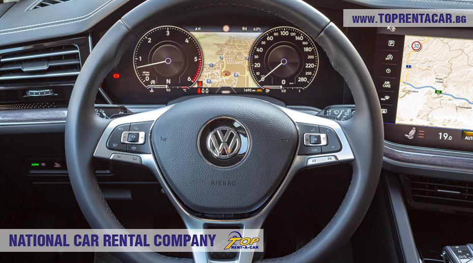 VW Touareg 2019 - внутри