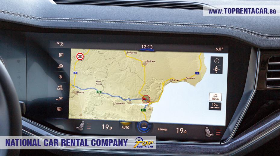 VW Touareg 2019 - GPS