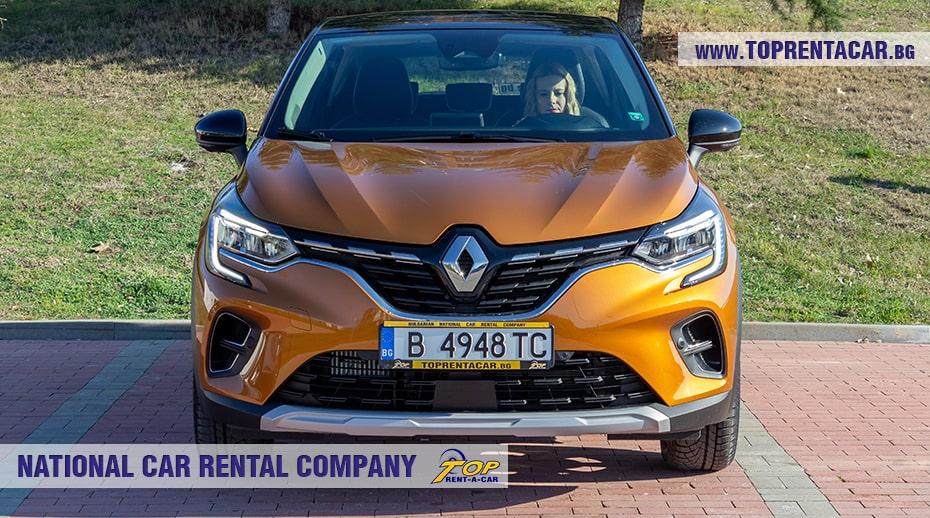 Renault Captur Tce aut 2021 вид спереди