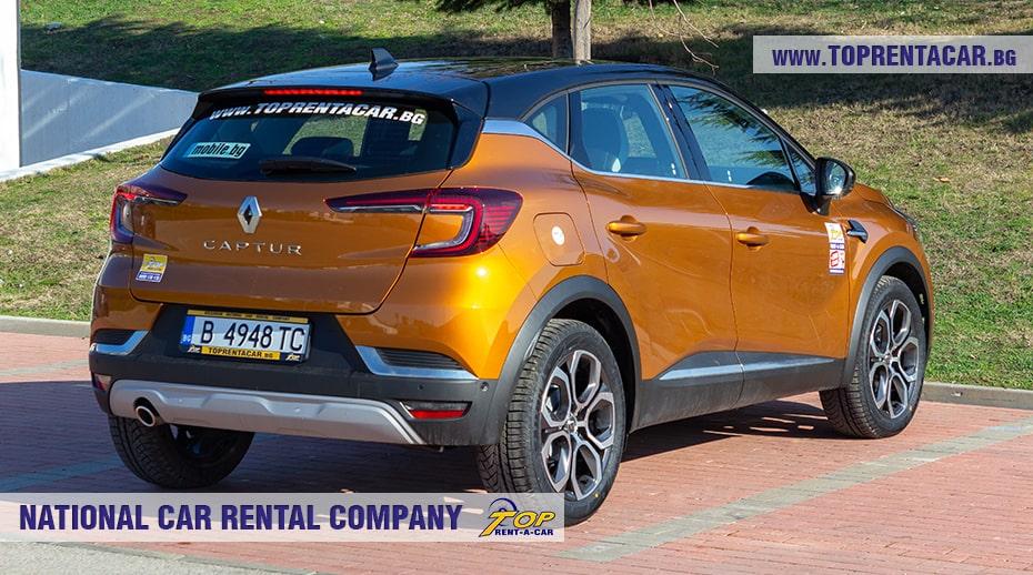 Renault Captur aut 2021 в аренду
