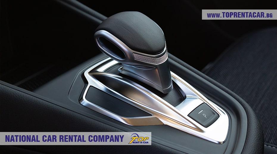 Новый рычаг автоматической коробки передач Renault Captur