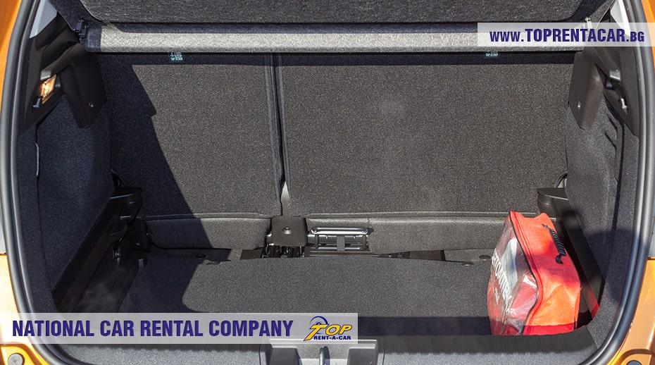 Renault Captur автомат - багажник