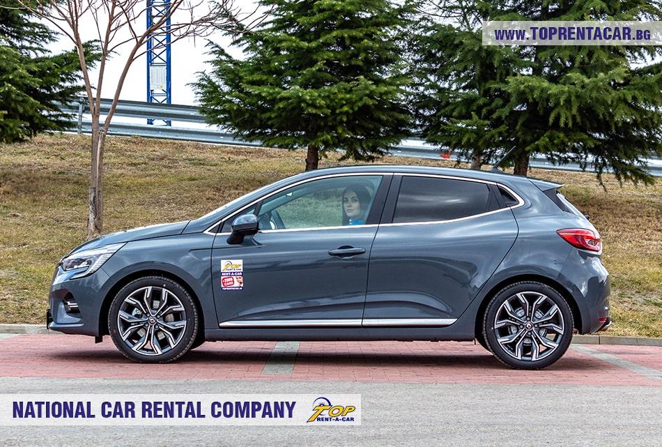 Renault Clio V 2020 + NAVI вид сбоку