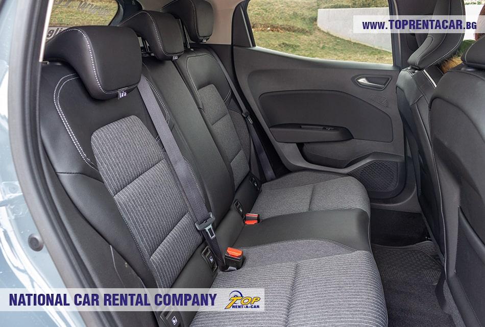 Renault Clio V 2020 + NAVI задние сидения