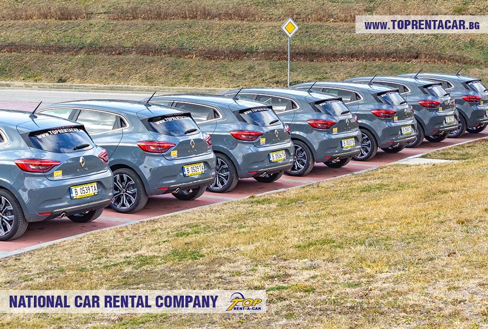 Renault Clio V 2020 + NAVI в аренда от Top Rent A Car
