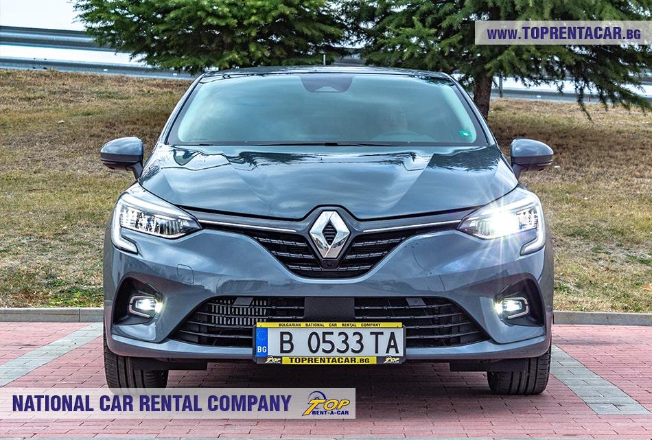 Renault Clio V 2020 - вид спереди