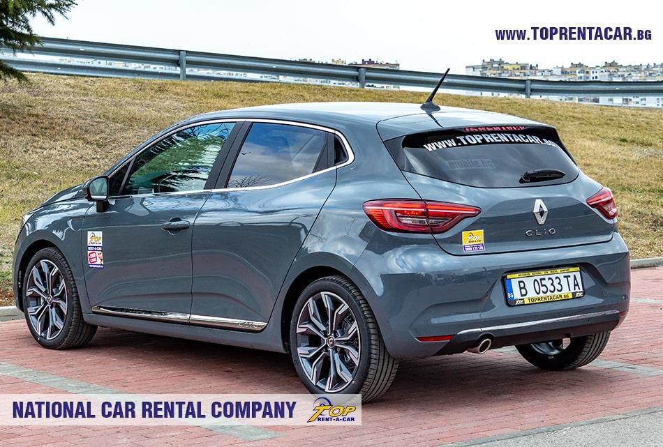 Renault Clio V 2020 - вид сзади