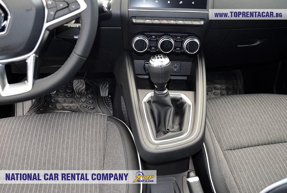 Renault Clio V 2020 - рычаг переключения передач