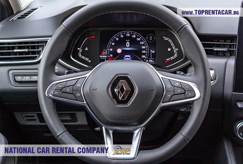 Renault Clio V 2020 - руль