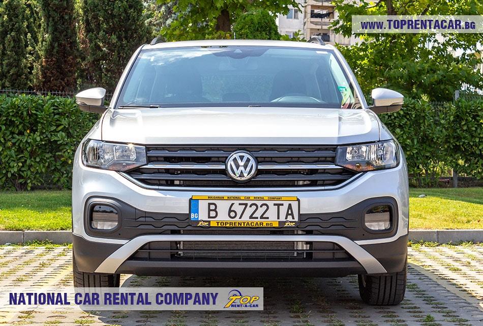 VW T-Cross 2020 вид спереди