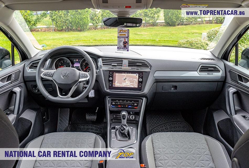 VW Tiguan интерьер