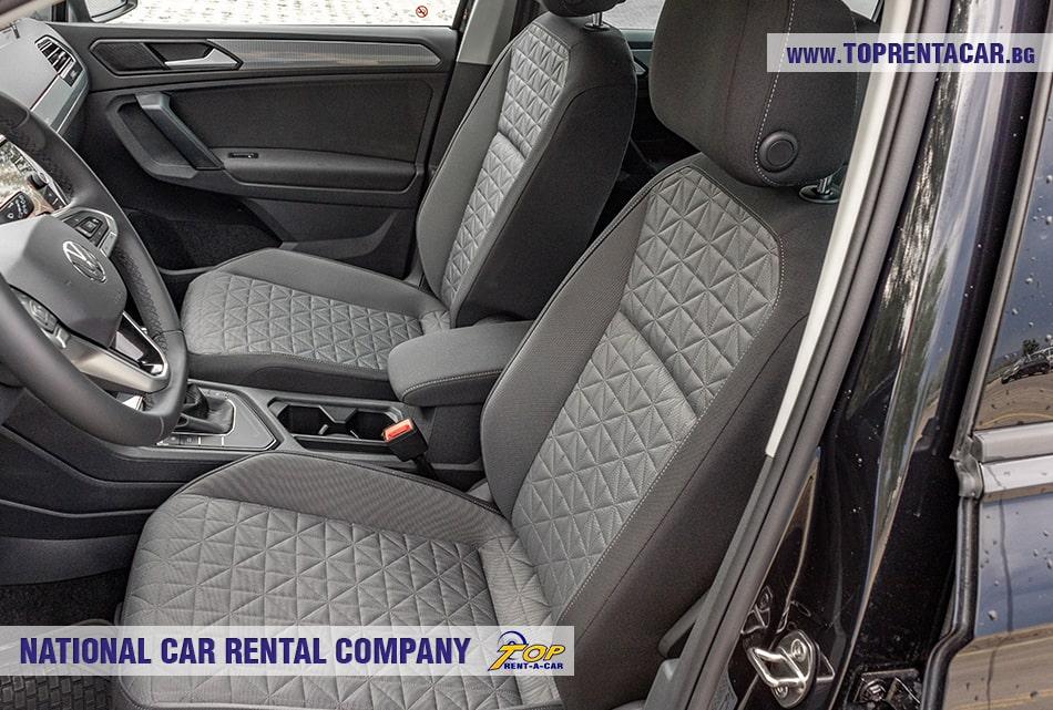 VW Tiguan передние сиденья