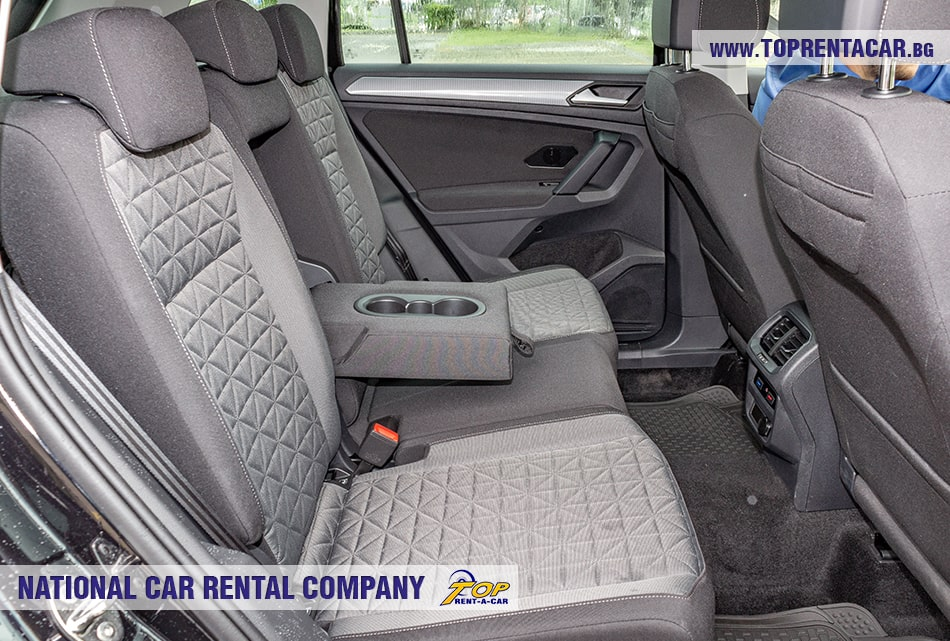 Задние сиденья VW Tiguan