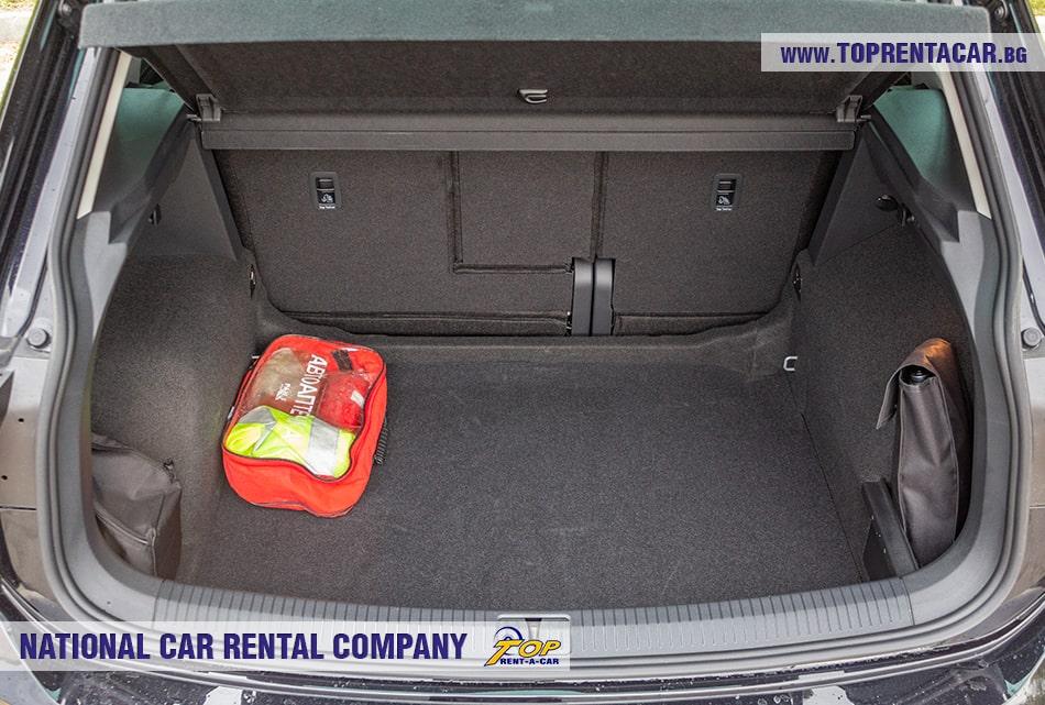 VW Tiguan багажник