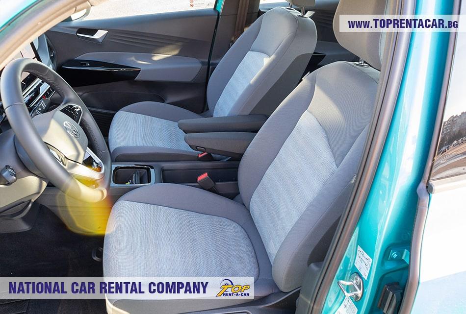 VW ID.3 передние сиденья