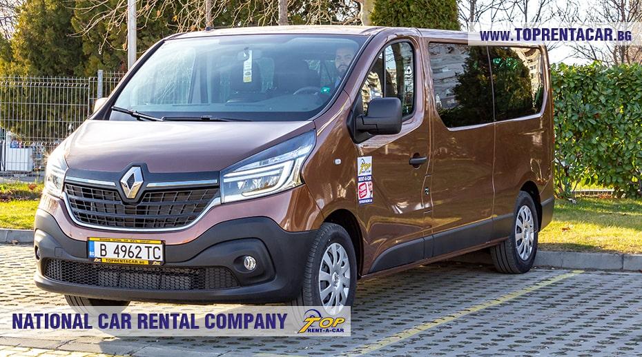 Renault Trafic - вид спереди