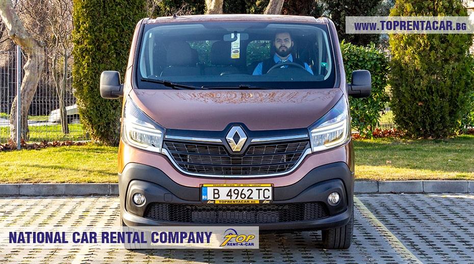 Renault Trafic 2021 в аренду
