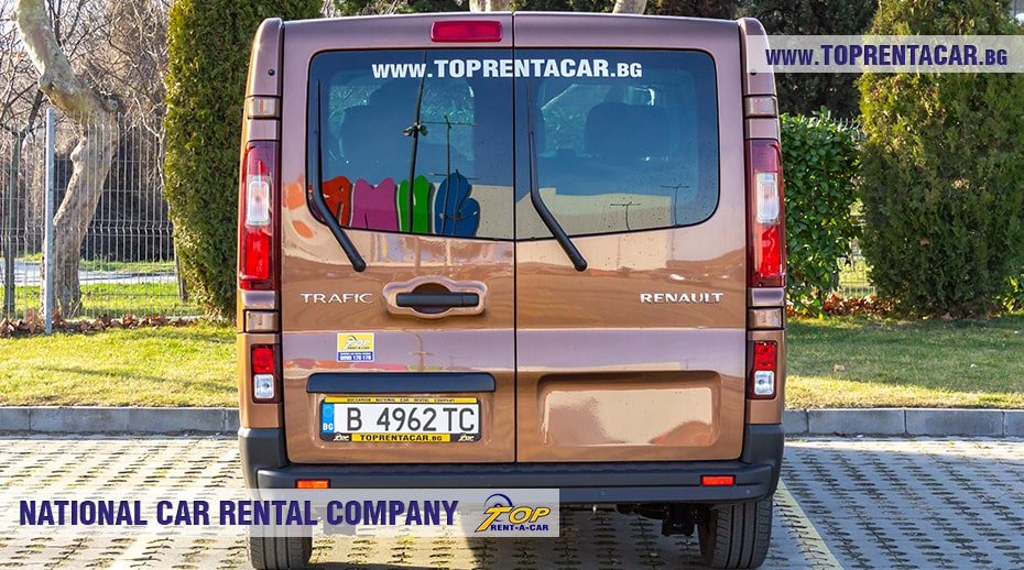 Renault Trafic 2021 - вид сзади