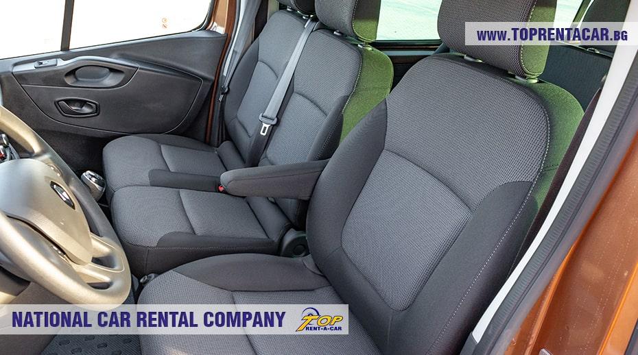 Renault Trafic - передние сиденья