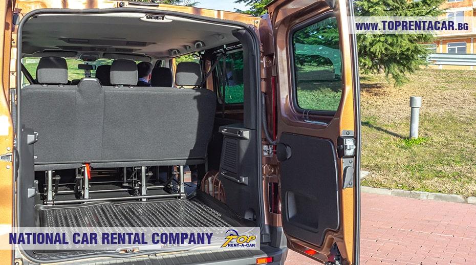 Renault Trafic 2021 - багажник