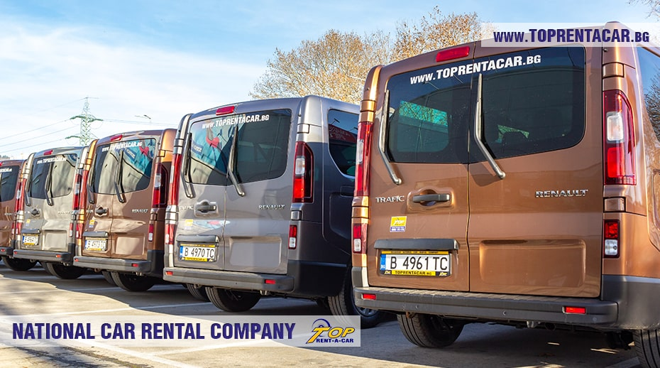 Аренда микроавтобуса Renault Trafic