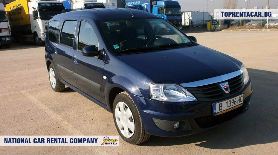 Dacia MCV - вид спереди