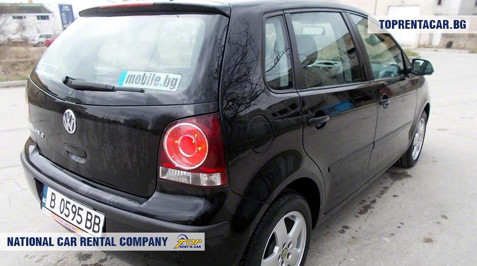 VW Polo - вид сзади