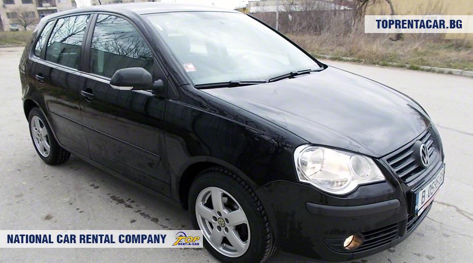 VW Polo - вид спереди