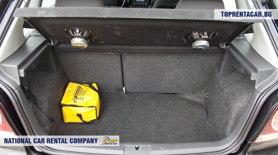 VW Polo - багажник