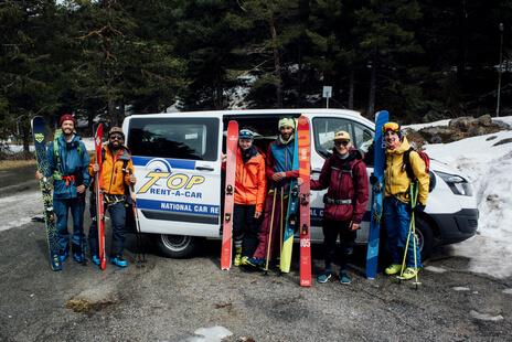 Лыжная трасса одна из лучших в Европе