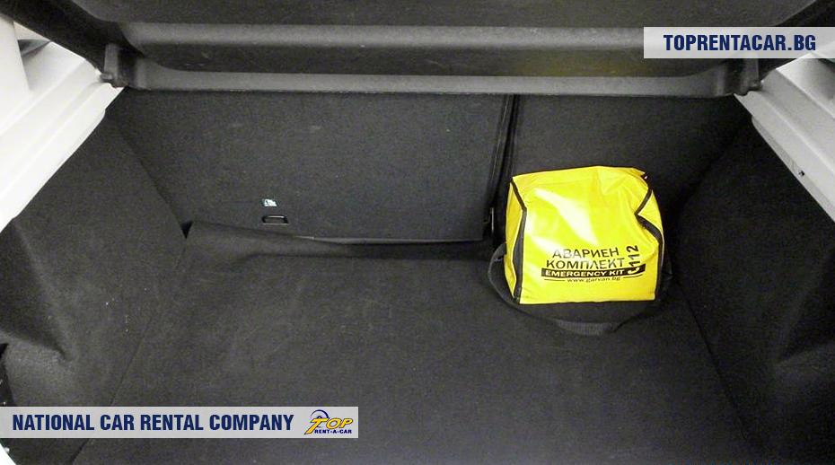 Dacia Sandero - багажник
